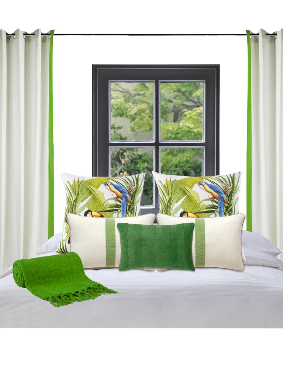 decoração de verão para quartos
