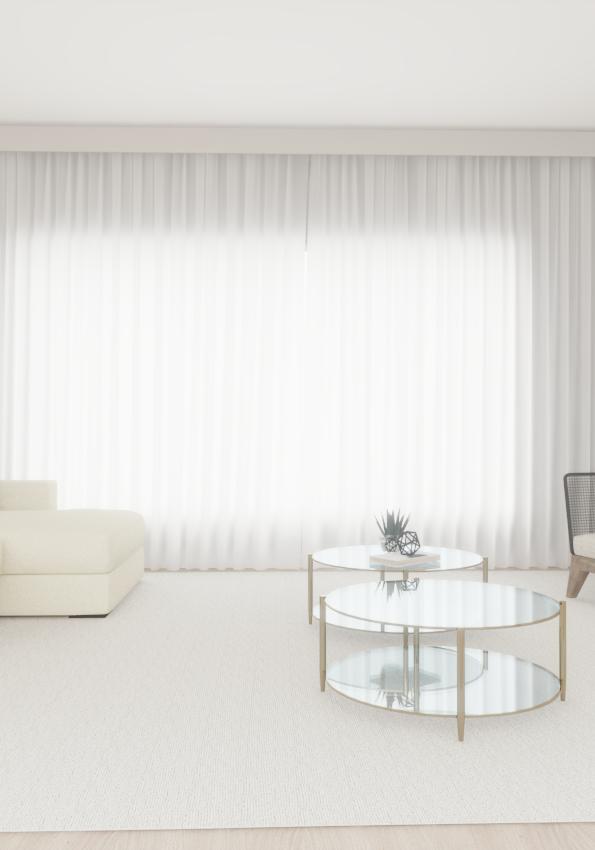 Sala de cortina branca R1.effectsResult